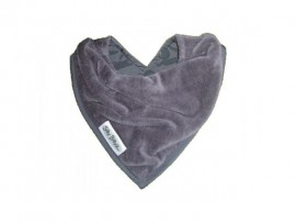 Bandana Slab Velours Dark Grey