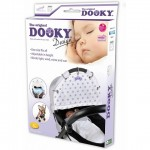 Dooky Universal Cover Design Stars Silver White