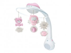 Mobile Musical 3-in-1 Pink