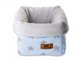 Mand Ster Chenille Babyblue