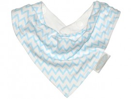 Bandana Slab Chevron Blue