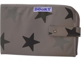 Dooky Changing Pad Grey Stars