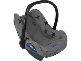 Dooky Seatcover Grey Stars