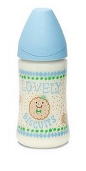 fles-lovely-blue