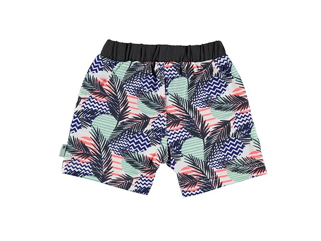 SS18 Short Boys Hawai Blue