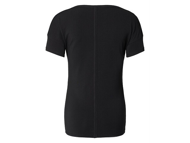 NOS Zwangerschapsshirt Basic Plus Solid Black
