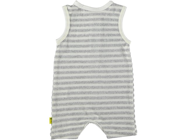 SS20 Playsuit Striped White